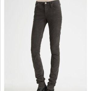 Helmut Lang black corduroy Jeans